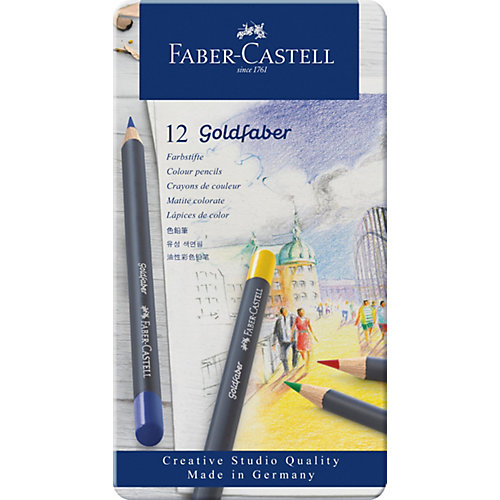 Карандаши цветные Faber-Castell Goldfaber, 12 цветов от Faber-Castell
