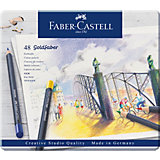 Карандаши цветные Faber-Castell Goldfaber, 48 цветов