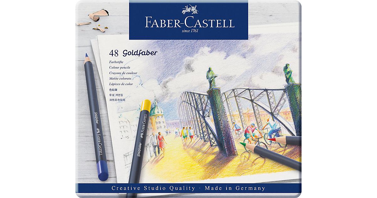 Faber-Castell · Buntstifte perm. Goldfaber, 48 Farben