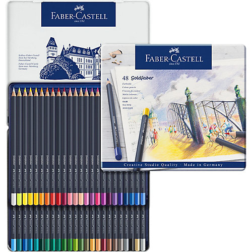 Карандаши цветные Faber-Castell Goldfaber, 48 цветов от Faber-Castell