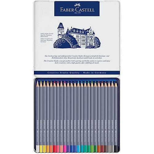 Карандаши акварельные художественные Faber-Castell Goldfaber Aqua, 24 цвета от Faber-Castell