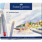 Карандаши акварельные художественные Faber-Castell Goldfaber Aqua, 48 цветов