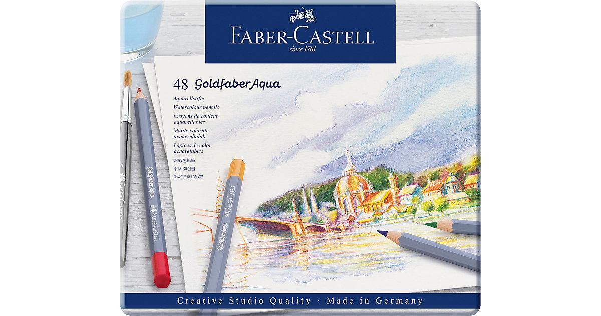 Faber-Castell · Aquarell Buntstifte Goldfaber, 48 Farben