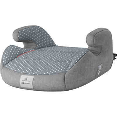 Sitzerhöhung Junior Isofix, bellybutton, Steel Grey