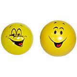 """Мяч Мячи-Чебоксары """"Смайлики"""", 7,5 см,"""