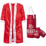 """Игровой набор для бокса """"Боксер  №3"""", в подарочной упаковке, 50 см"""
