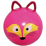 "Мяч - прыгун с ушками Moby Kids  ""Лисенок"", 50 см"