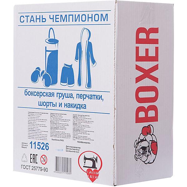 """Игровой набор для бокса """"Боксер  №1"""", в подарочной упаковке, 30 см"""