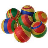 """Мяч Мячи-Чебоксары """"Цветной"""", 10 см"""