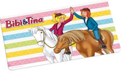Kuscheldecke Bibi & Tina, Freunde, 130 x 170 cm, Bibi und