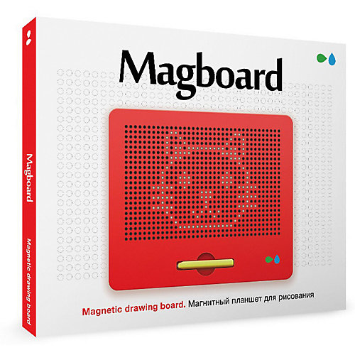 """Магнитный планшет для рисования """"Magboard"""", красный от Назад к истокам"""
