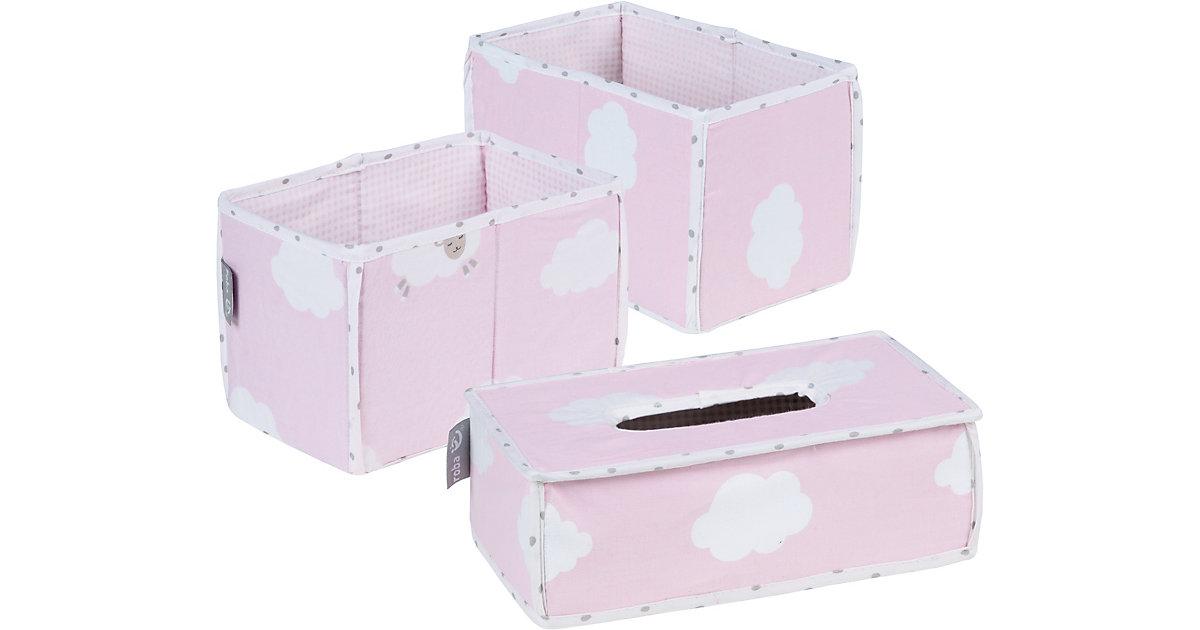 roba · Pflegeorganizer Kleine Wolke, 3er- Set, rosa