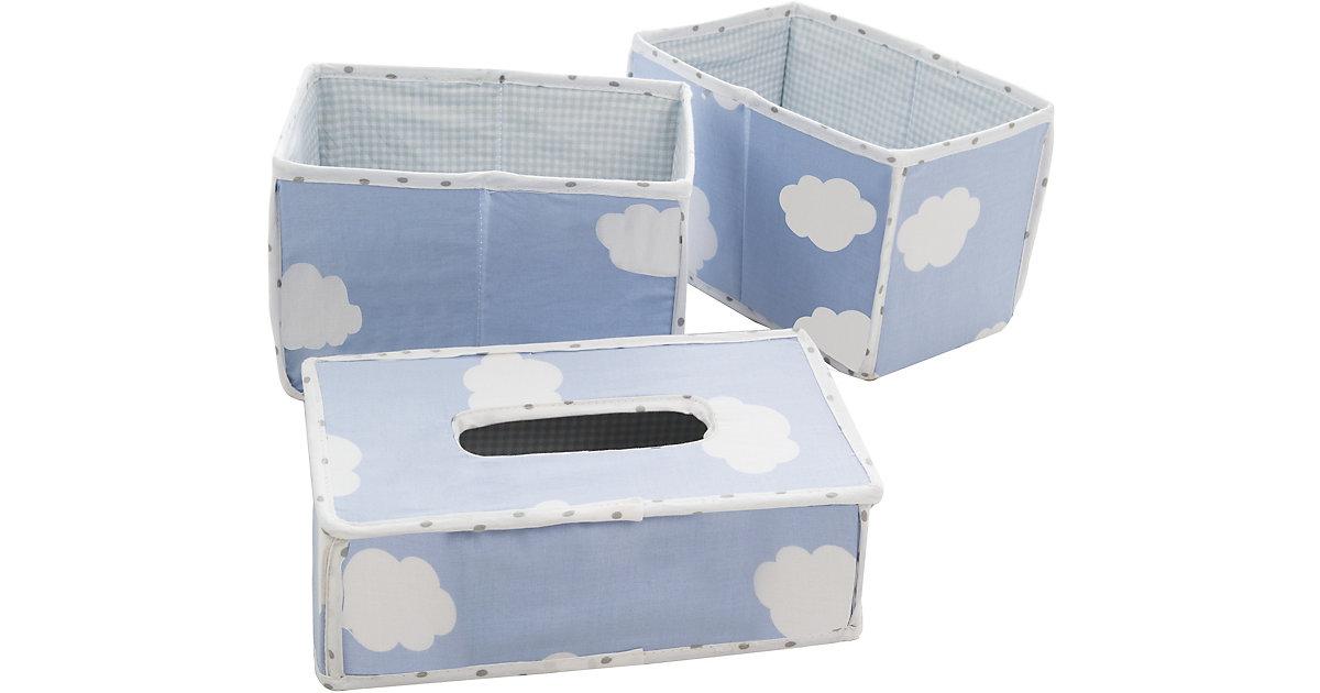 roba · Pflegeorganizer Kleine Wolke, 3er- Set, blau