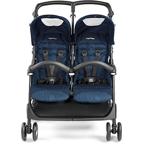- Zwillingswagen Aria Shopper Twin, Geo Navy, 2018 | 08005475381854