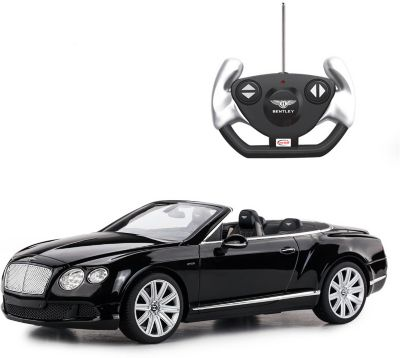 """Радиоуправляемая машинка Rastar """"Bentley Continetal GT """", 1:12, черная"""