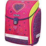 Ранец Herlitz Midi New Plus, Pink Hearts