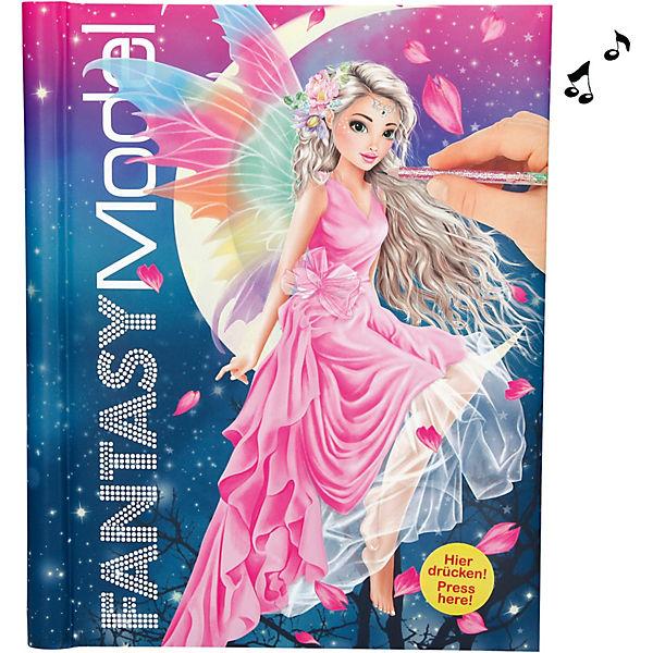 Fantasy model malbuch mit led und sound fantasy model mytoys - Dessin top model ...