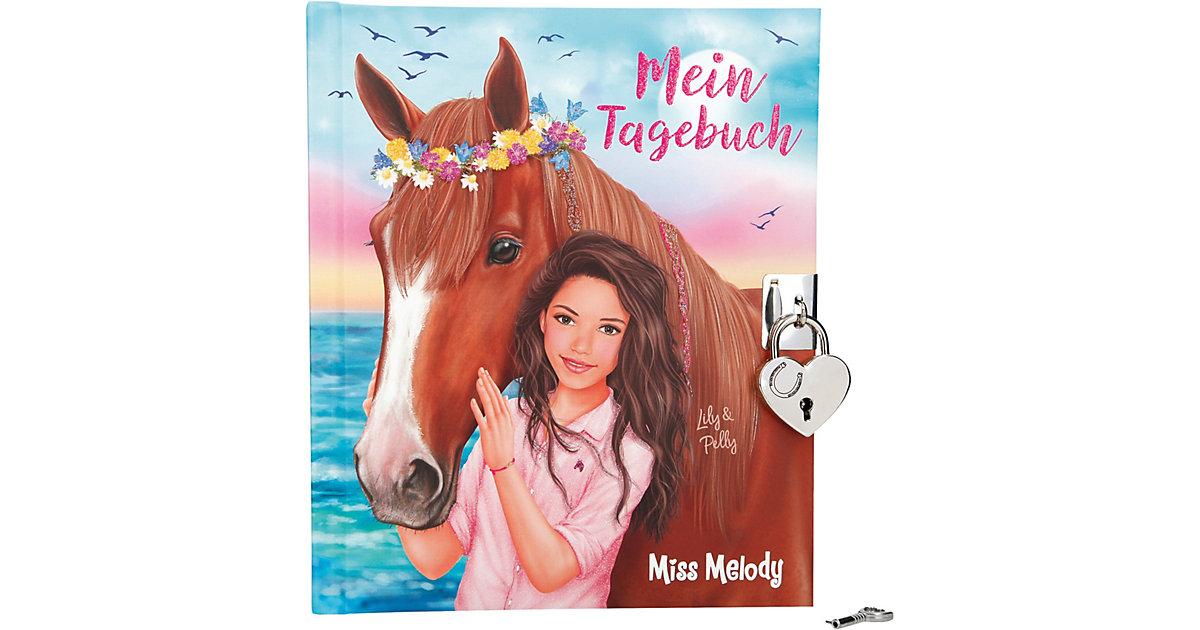 Depesche · Miss Melody Tagebuch mit Stickern, Motiv 1