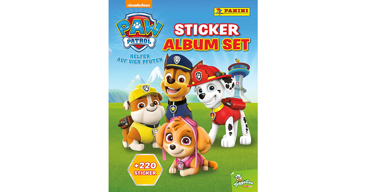 PANINI Sticker-Album-Set PAW Patrol, inkl. 220 ...