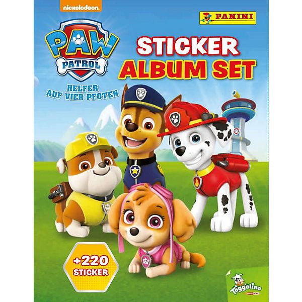 Panini Sticker Album Set Paw Patrol Inkl 220 Sticker Paw Patrol