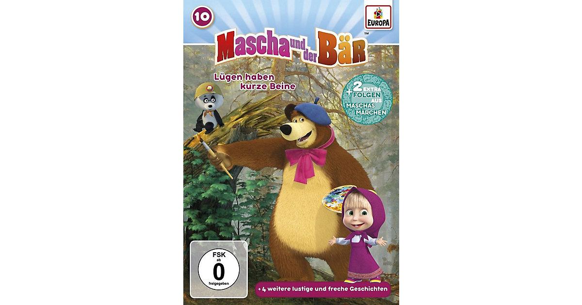 DVD Mascha und der Bär 10 - Lügen haben kurze B...
