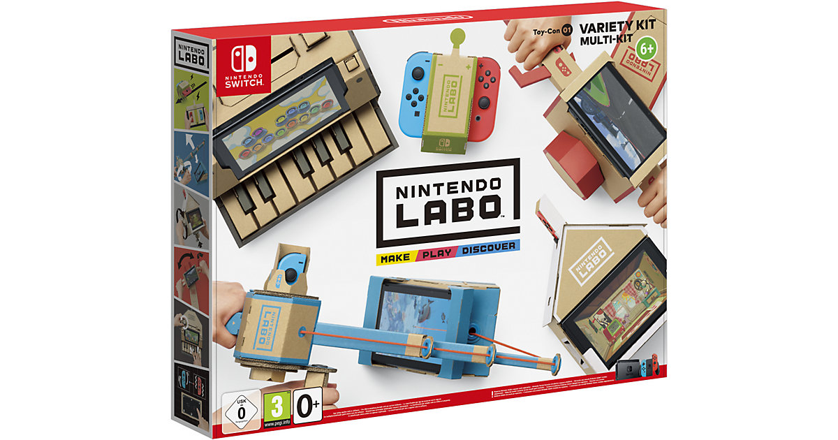 Image of Nintendo Labo - Toy-Con 01 Multi-Set (Nintendo Switch)