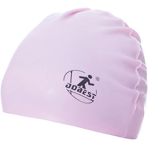 Силиконовая шапочка для плавания Dobest, розовая от Dobest
