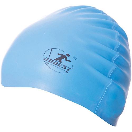 Силиконовая шапочка для плавания Dobest, голубая от Dobest