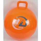 Мяч-попрыгун Z-Sports с ручкой, 45см, оранжевый