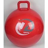 Мяч-попрыгун Z-Sports с ручкой, 65см, красный