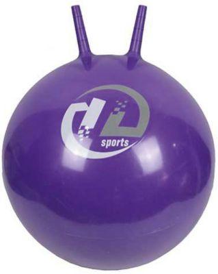 Мяч-попрыгун Z-Sports  с рожками, 65см, фиолетовый