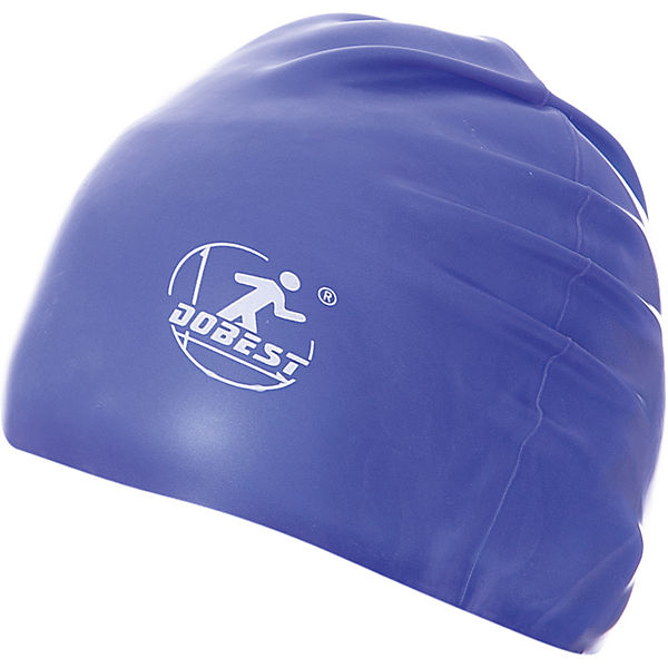 Силиконовая шапочка для плавания Dobest, темно-синяя