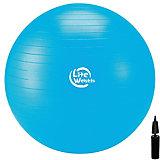 Гимнастический Мяч Lite Weights, с насосом , 75см, голубой