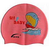Силиконовая шапочка для плавания Dobest, с рисунком