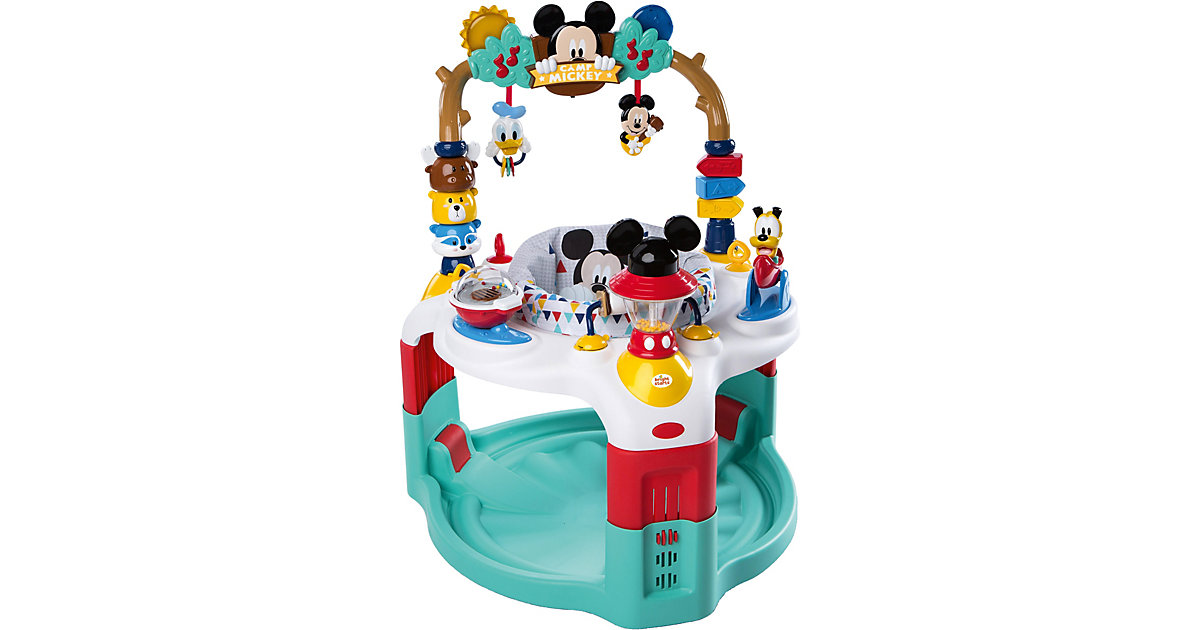 Activity Center™, Mickey Mouse camping with fri...