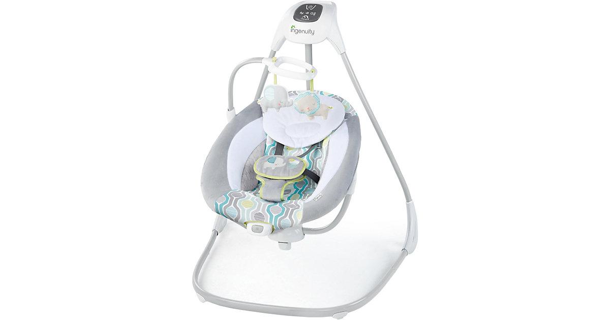 INGENUITY · Schaukel SimpleComfort Cradling Swing™, Everston™, grau/weiß