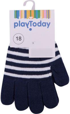 Перчатки PlayToday для мальчика - темно-синий