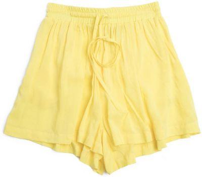 Шорты PlayToday для девочки - желтый