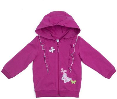 Толстовка PlayToday для девочки - розовый