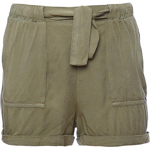Review Shorts mit Gürtel aus Viskose Gr. 164 Mädchen Kinder   04060479368670