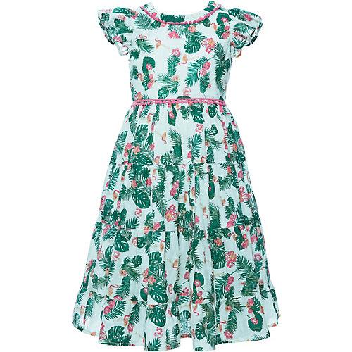 Review Kleid mit Rüschen Gr. 104/110 Mädchen Kleinkinder   04060479362432