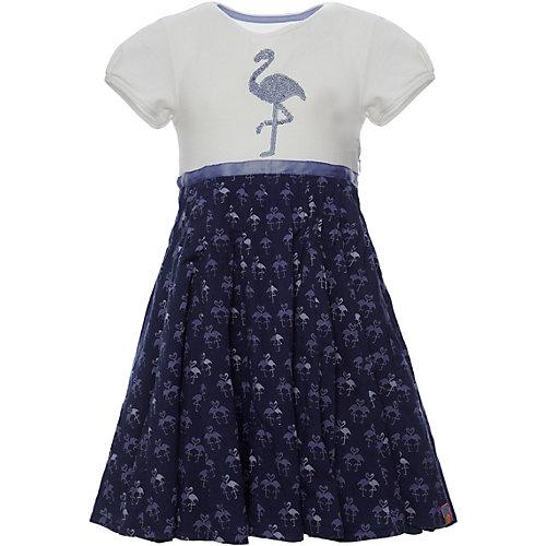 Review Kleid mit Jerseytop, Flamingo Gr. 128/134 Mädchen Kinder   04060479362418