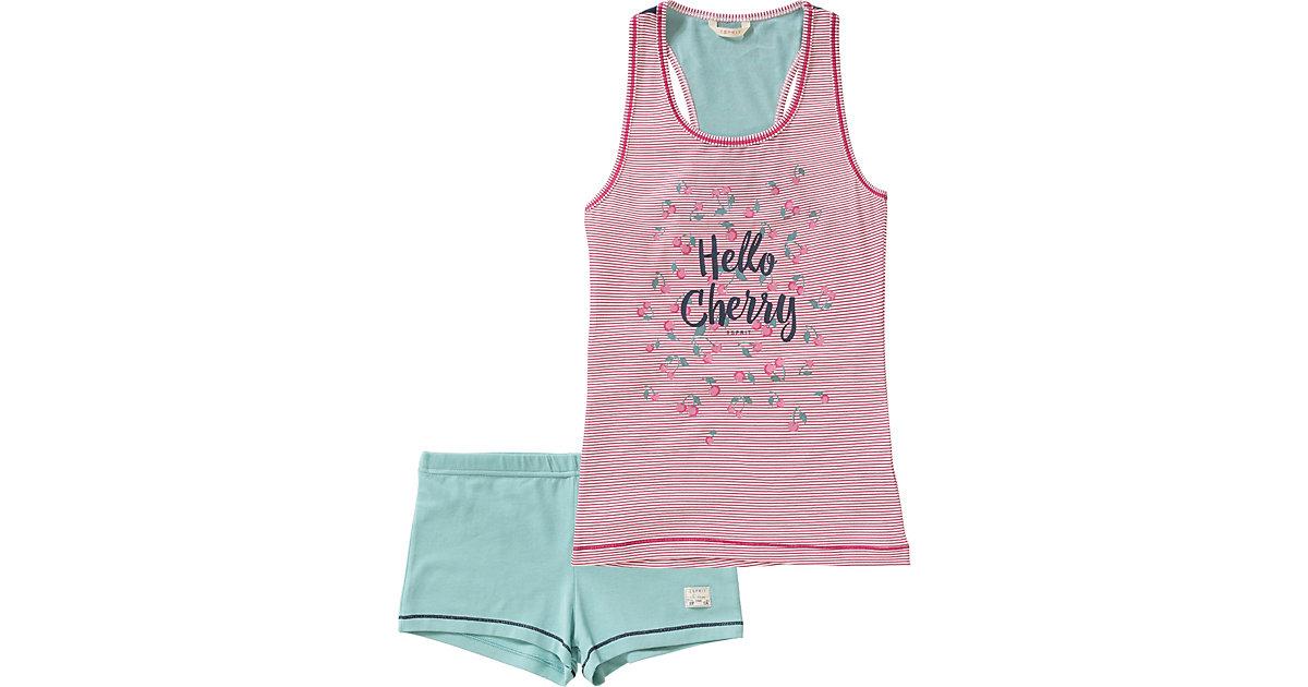 ESPRIT BODYWEAR · Schlafanzug Gr. 164 Mädchen Kinder