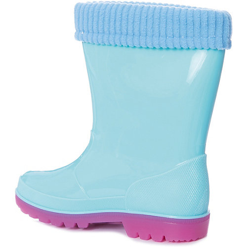 """Резиновые сапоги со съемным носком Kakadu """"Peppa Pig"""" - голубой от KAKADU"""