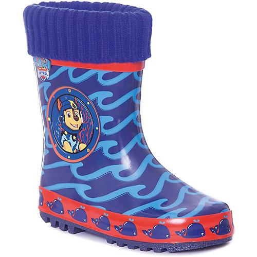 """Резиновые сапоги со съемным носком Kakadu """"Щенячий патруль"""" - синий от KAKADU"""