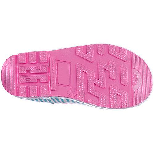 Резиновые сапоги со съемным носком Kakadu - розовый от KAKADU