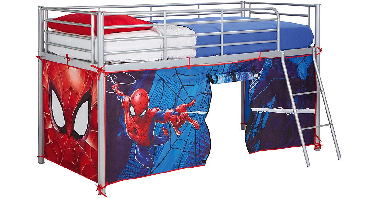 Vorhangset Hochbetten, Spider-Man, blau/rot  Kinder