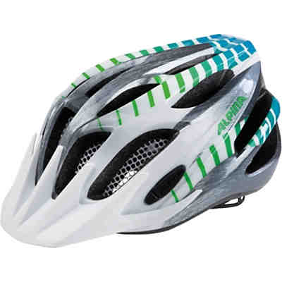 Fahrradhelm FB JR. 2.0 flash wht-alu-gradient