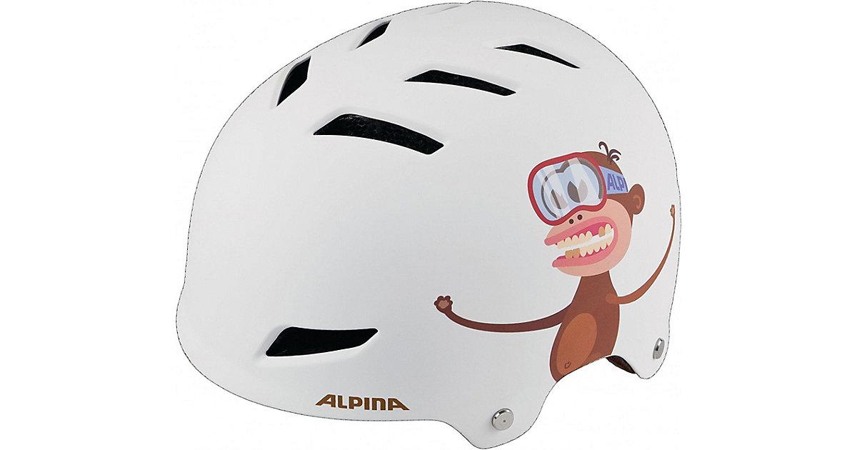 Fahrradhelm Park Jr. white monkey 51-55