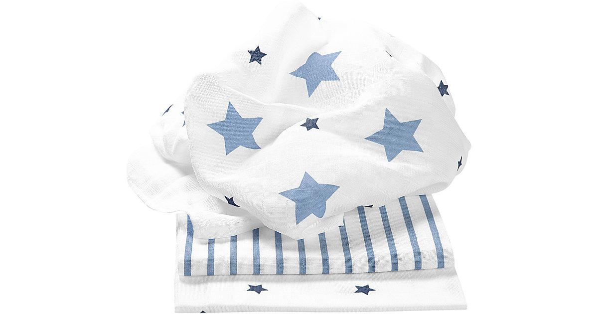 Odenwälder · Odenwälder Mullwindeln stars and stripes ice blue